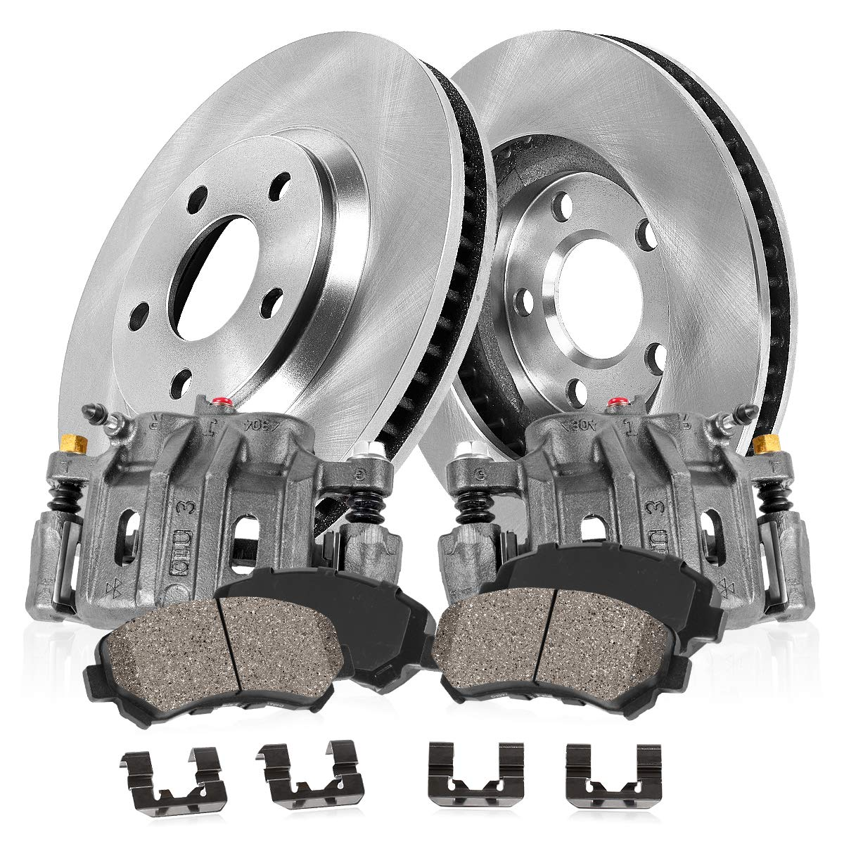 Rear Quality OE Brake Calipers Pair For TOYOTA AVALON CAMRY USA SOLARA