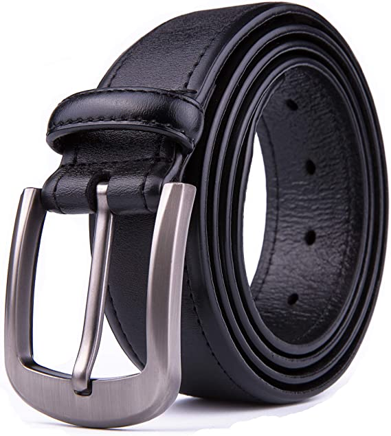 GENTS BOVINE LEATHER BELT SOLID PIECE ALL SIZES width 35mm British Made