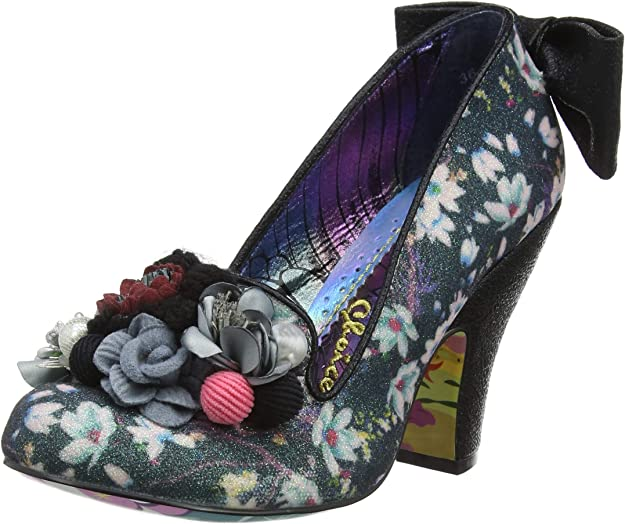 TALLA 39 EU. Irregular Choice Be Yourself, Zapatos de tacón con Punta Cerrada para Mujer