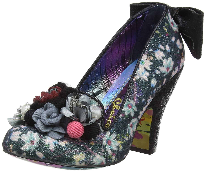 TALLA 38 EU. Irregular Choice Be Yourself, Zapatos de tacón con Punta Cerrada para Mujer