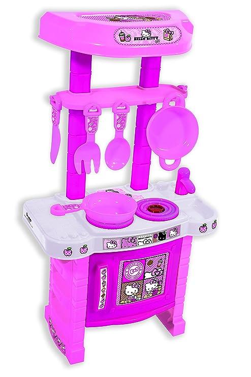 FornoColoreRosasaica Kitty Cucina Con Toys Giocattolo Hello AL345jR