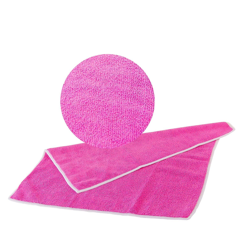 Universal toalla rosa 20 piezas, 40 x 40 cm - 300 g/m³ (7473 ...