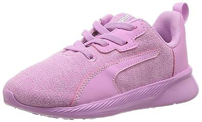 f15cd00f01ab PUMA Baby Tishatsu Runner Knit AC Sneaker Orchid White