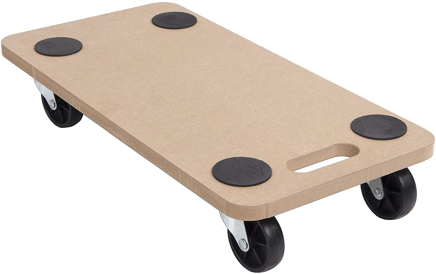 200kg Wooden Furniture Mover Hand Dolly Trolley Cart Truck Platform 580x290mm SafetyLiftinGear