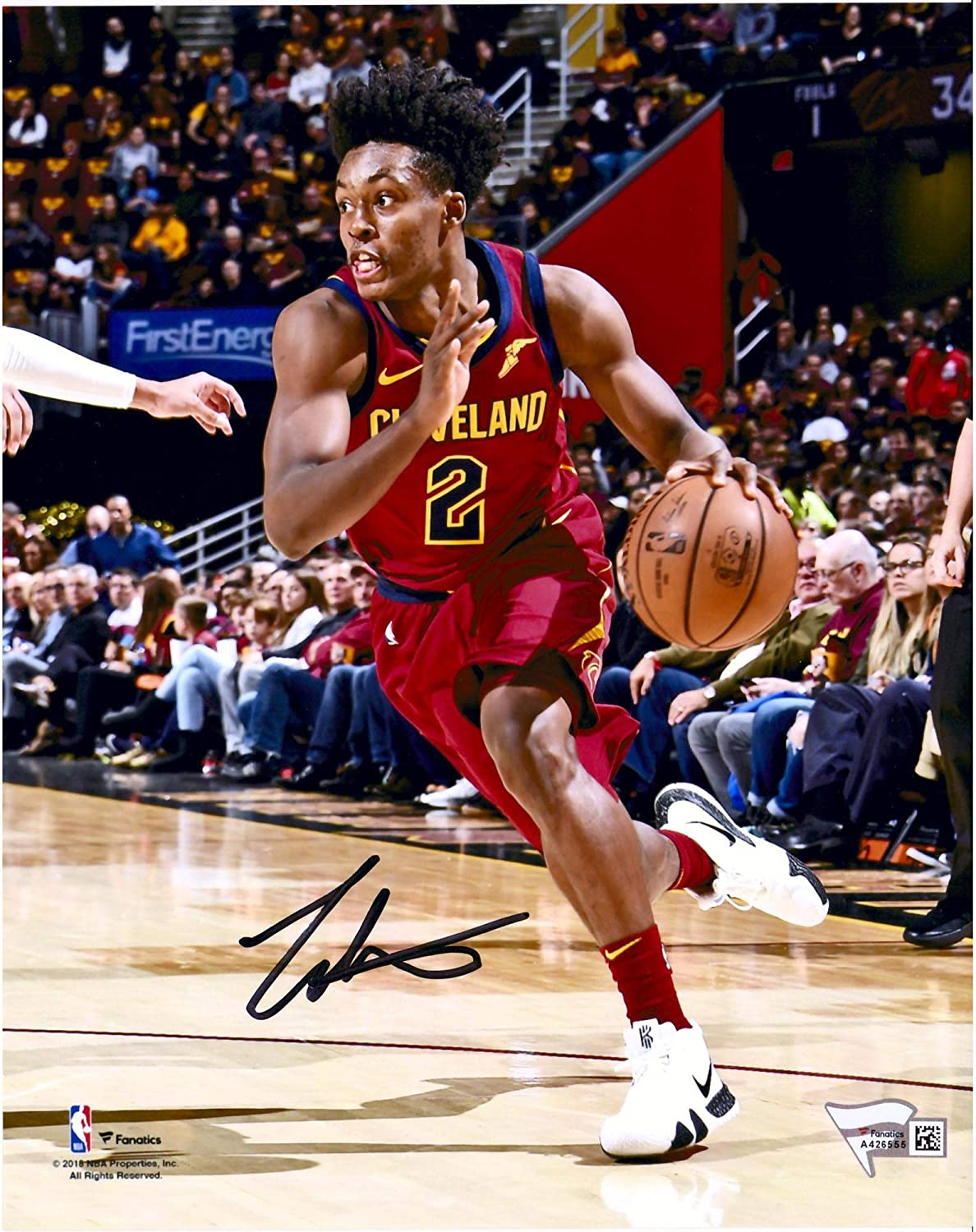 new product 921a0 458c1 Collin Sexton Cleveland Cavaliers Autographed 8