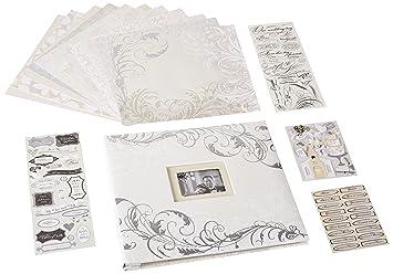 kcompany classic wedding boxed scrapbook kit