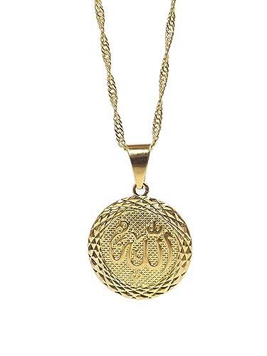 Kette mit anhänger  Wunderschöne 18K Vergoldete Halskette Kette Anhänger ...