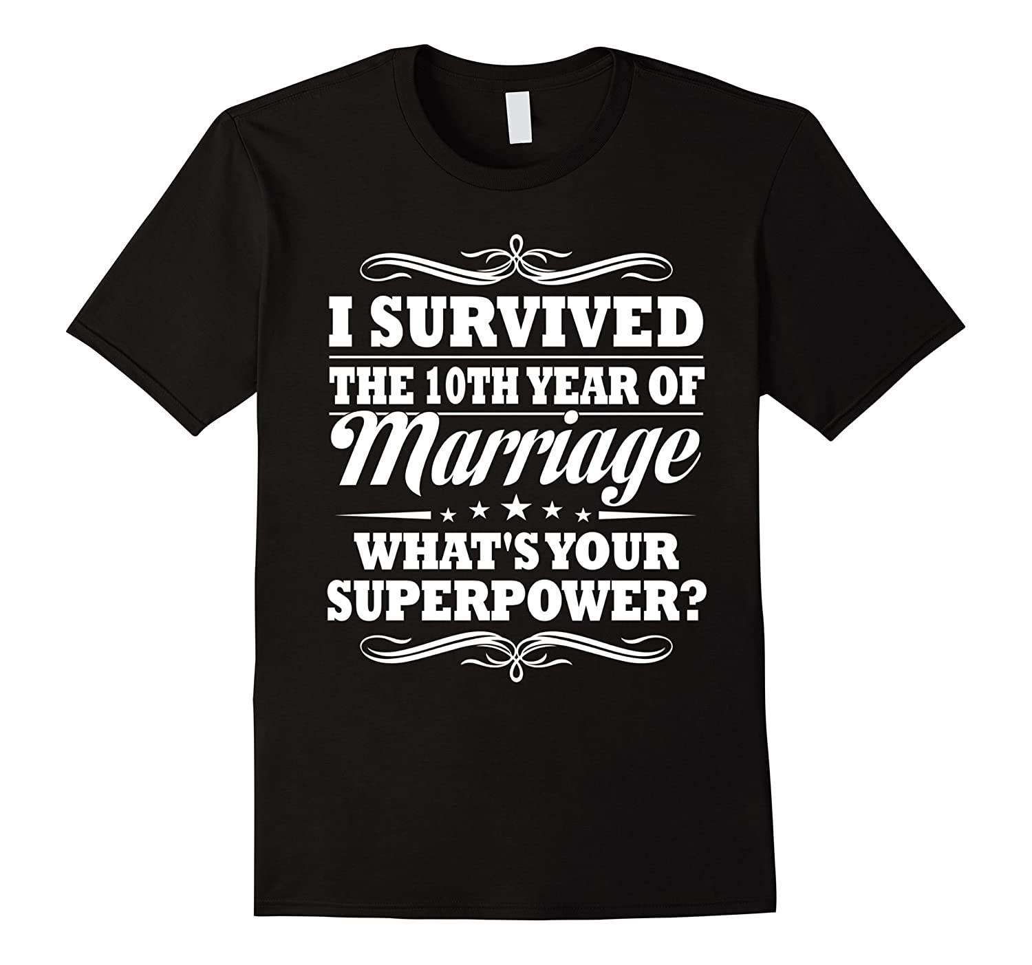 10th Wedding Anniversary Gift Ideas For Her/ Him- I Survived-TH