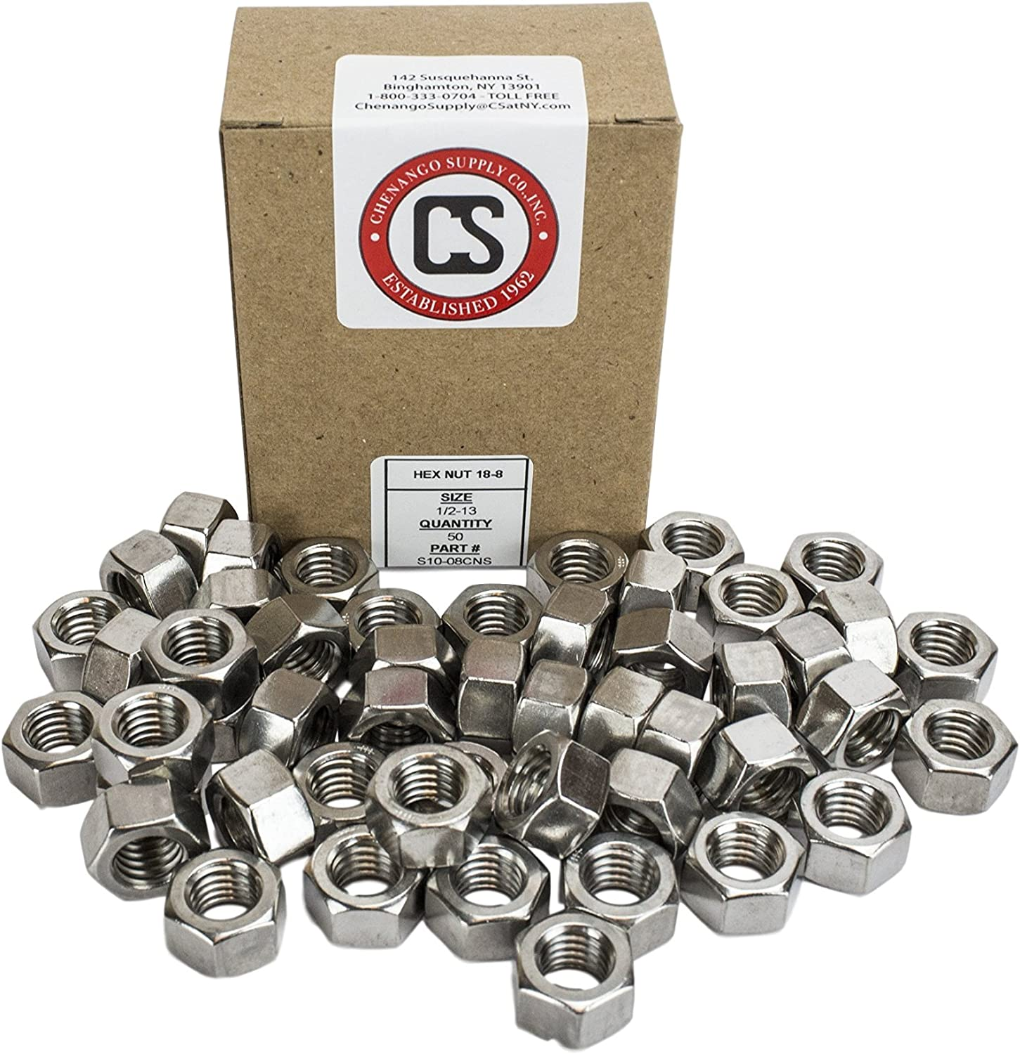 1//2-13 x 2 Stainless 1//2-13 x 2 Hex Head Bolts 3//4 to 5 Lengths Available in Listing 304 Stainless Steel 25 Pieces
