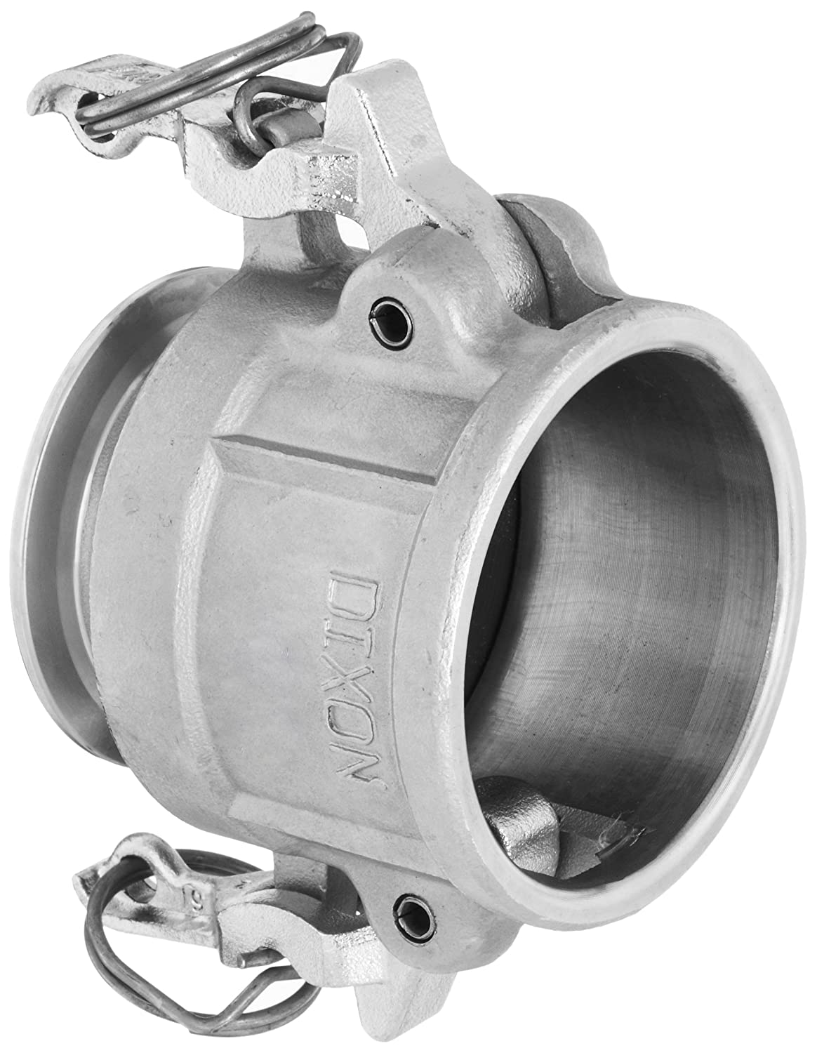 1-1//2 Plug x 1-1//2 Clamp End Dixon RE150SE Stainless Steel 316 Cam and Groove Transition Sanitary Hose Fitting