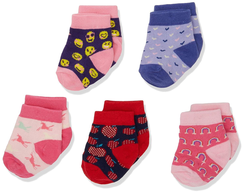Hatley Baby Girls' Socks Pink (Prancing Unicorns) One Size (0-12 Months) F18MUIA741