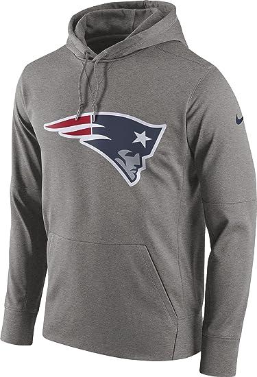 Amazon.com  Nike Men s New England Patriots Logo Essential Hoodie  Sports    Outdoors fc80626d8
