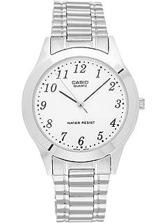 CASIO Reloj de Pulsera MTP-1128A-7B: Amazon.es: Relojes