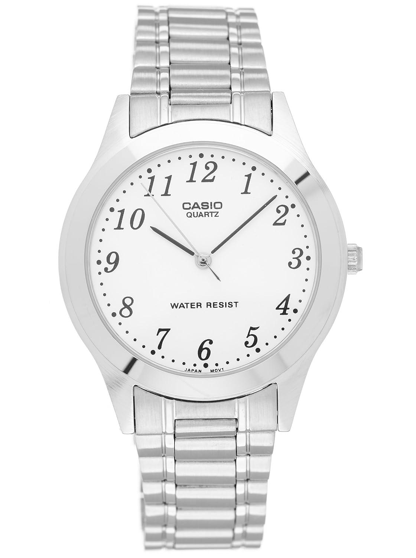 Casio MTP-1128A-7BEF - Reloj (Reloj de Pulsera, Acero Inoxidable, Acero Inoxidable, Acero Inoxidable, Acero Inoxidable, Mineral)