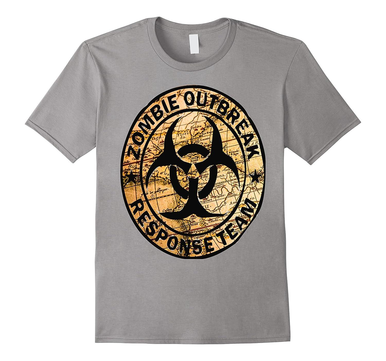 Apocalypse Zombie Response Team T Shirt-TD