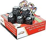 5 Pack - EPAuto 30/40 AMP Relay Harness Spdt