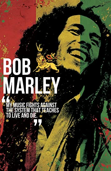 Posters Bob Marley Design Original Big Movie Poster Size News Paper Size 14 inch x 26