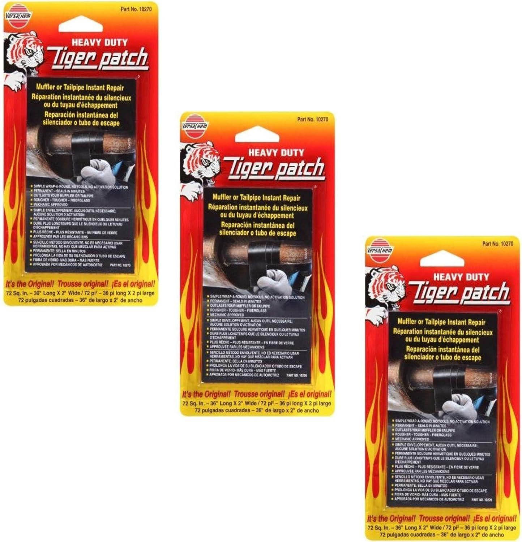 Versachem 4333092946 Muffler Tape Tigerpatch -3 Pack: Automotive
