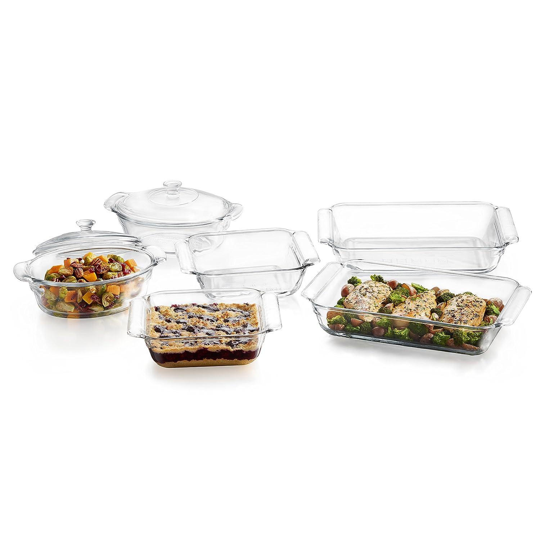 Libbey Baker's Premium 2-quart Glass Casserole 57024