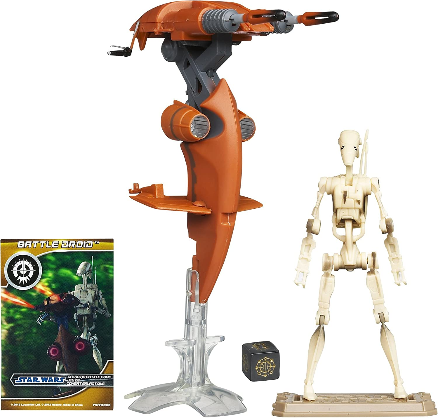 STAR WARS VEHICLE PARTS EP1 STAP MISSILE FOR 3.75 INCH FIGURES