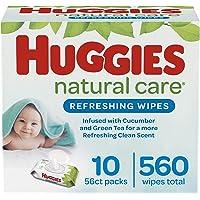 Deals on Huggies Natural Care Refreshing Baby Wipes 10 Flip-Top Packs