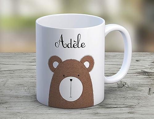 pr/énom cadeau cadeau personnalis/é Mug /à personnaliser Petit Tigre tasse /à caf/é