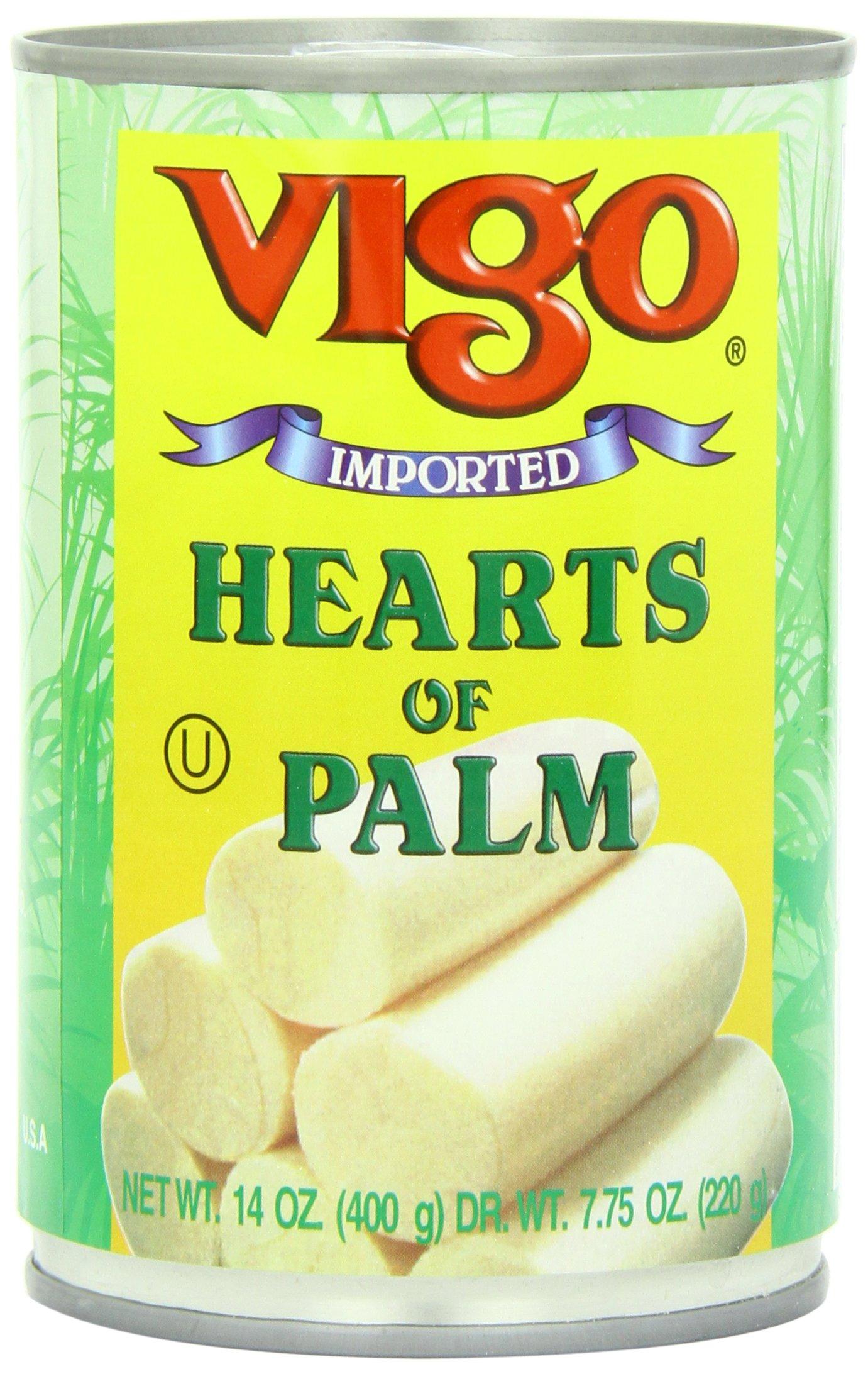 Vigo Hearts of Palm, 14 Ounce (Pack of 12) by VIGO