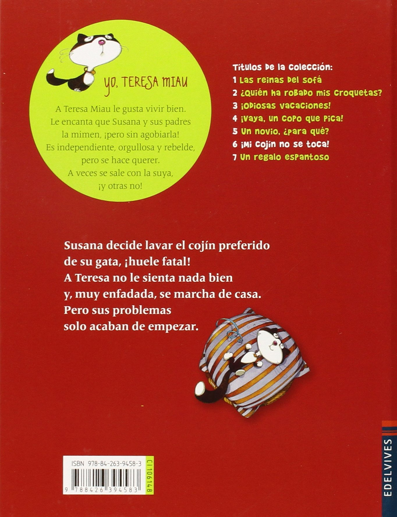 ¡Mi cojín no se toca!: Gérard Moncomble: 9788426394583: Amazon.com: Books