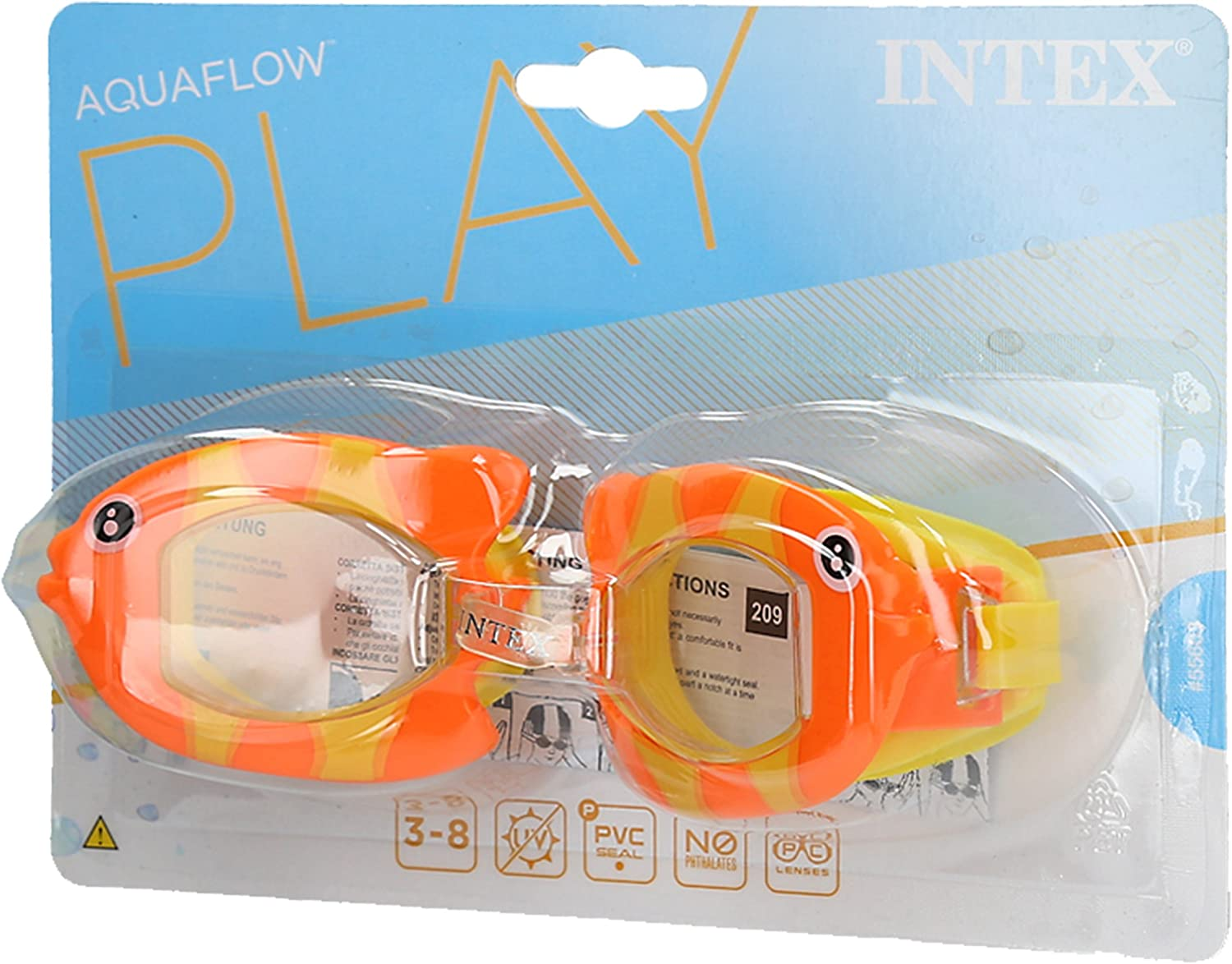 INTEX – Gafas de Buceo Infantil Fun