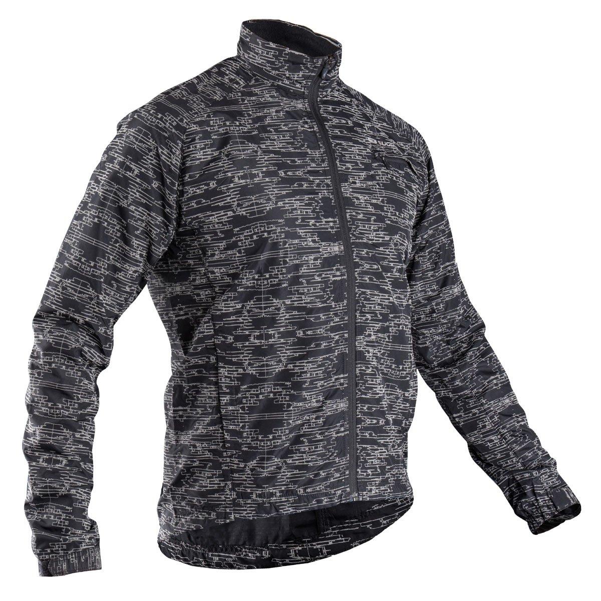 Sugoi Men's Zap Run Jacket, Black, Large by SUGOi