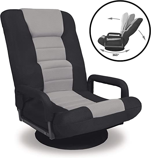 Best Choice Products 360-Degree Swivel Gaming Chair - Multifunctional Armrests