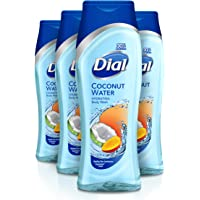 Dial Body Wash, Coconut Water & Mango, 21 Ounce (Pack of 4)