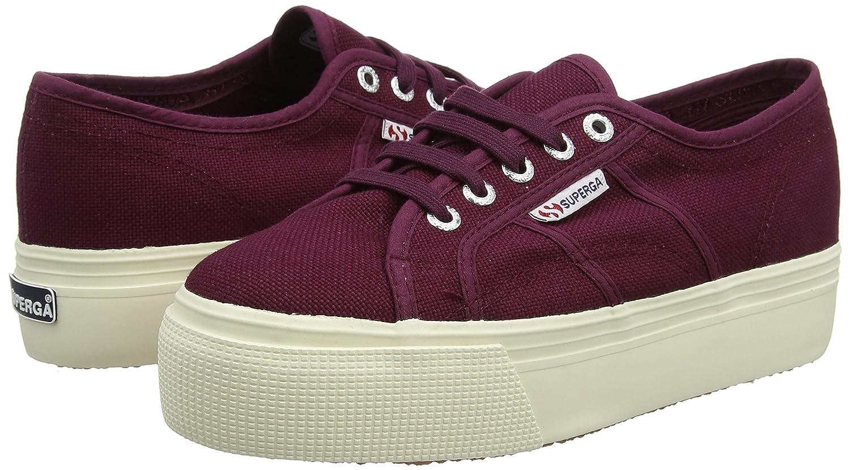 Superga Damen Sneaker 2790-Acotw Linea up and Down Sneaker Damen Violett (Violet Prune) f1d36d