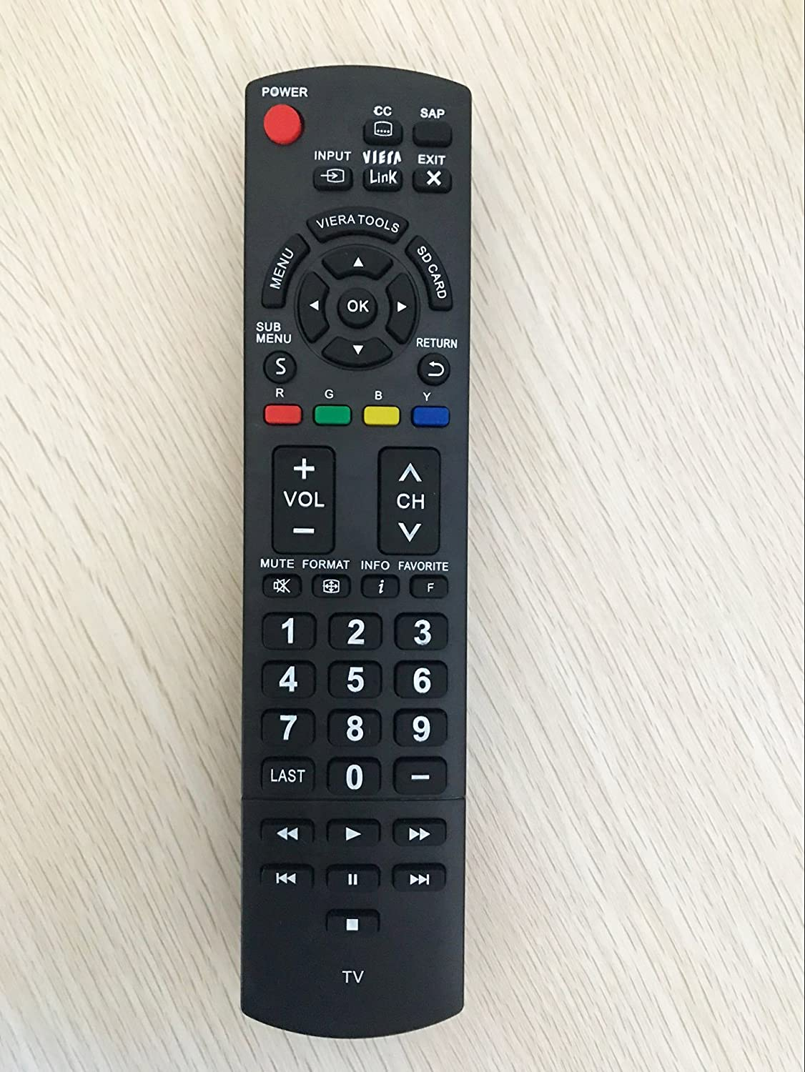 Tekswamp TV Remote Control for Toshiba 50L420U