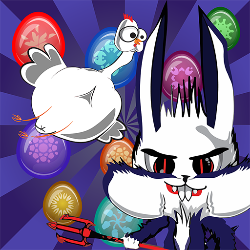 Easter Evil Bunny - Bubble Pop