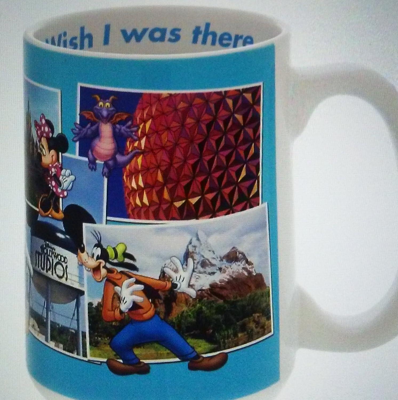 Disney World Wish I Was There Postcard Mug