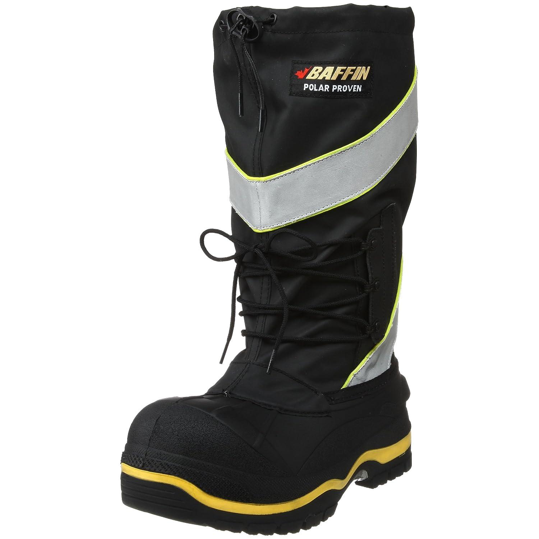 Black Hi-Viz Baffin Men's Derrick (STP)-100c Pull-On Safety Boot