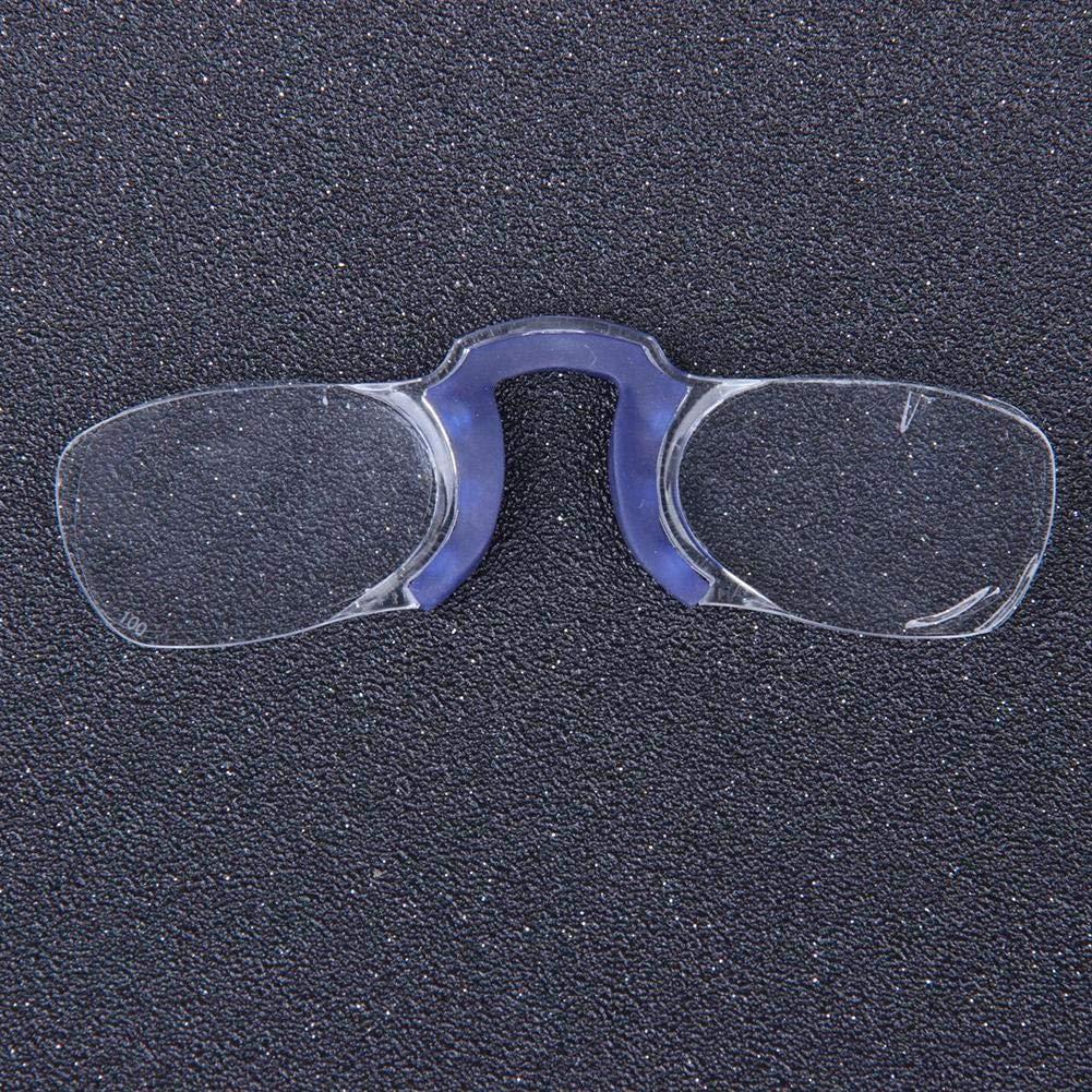 Occhiali da vista per uomo e donna vintage Occhiali da riposo indistruttibili Occhiali da lettura senza astine e senza montatura
