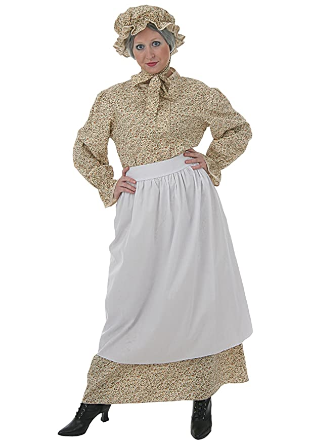 sc 1 st  Amazon.com & Amazon.com: Fun Costumes womens Adult Auntie Em Costume: Clothing