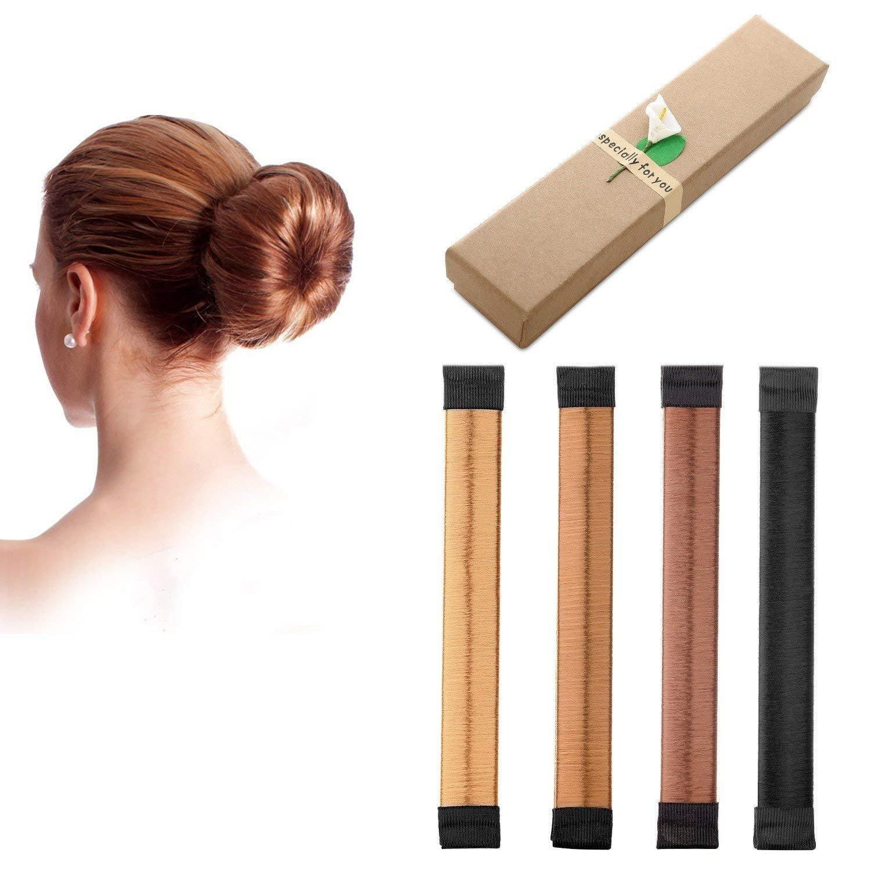 Frauen Mädchen Magic Hair Styling Clip Stick Brötchenmacher Braid Werkzeug