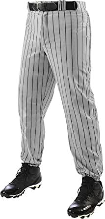 Champro Triple Crown Pinstripe Polyester Baseball Pants - Pantalón de béisbol Triple Crown Pinstripe Poliéster Niños