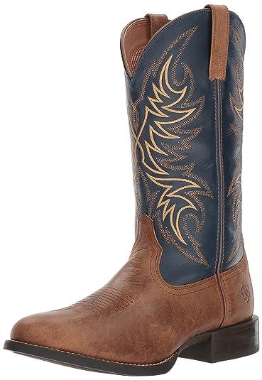 788783c675d Amazon.com | ARIAT Men's Sport Horseman Western Boot | Industrial ...
