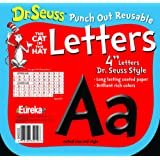 Amazon Price History for:Eureka Dr. Seuss Punch Out Reusable Decorative 4-Inch Letters, Black, Set of 200 (845033)