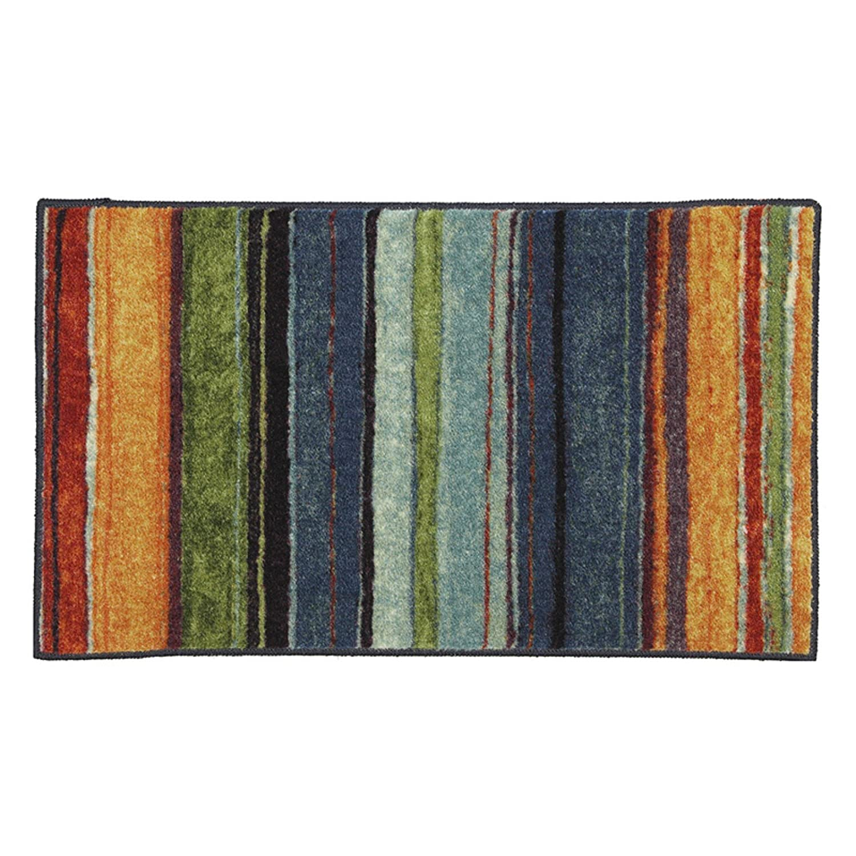 Amazon.com : Mohawk Home 10474 416 030046 EC Rainbow Multi Color 2u00276x3u002710  Rug : Hand Tufted Rugs : Garden U0026 Outdoor