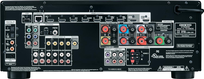 amazon com onkyo tx nr616 7 2 channel network a v receiver rh amazon com onkyo av receiver tx-sr707 manual onkyo tx-sr707 manual