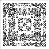 ペイズリー柄ビッグバンダナ (68×68cm) 大判 スカーフ ハンカチ (#218997 ハバハンク HAV-A-HANK)