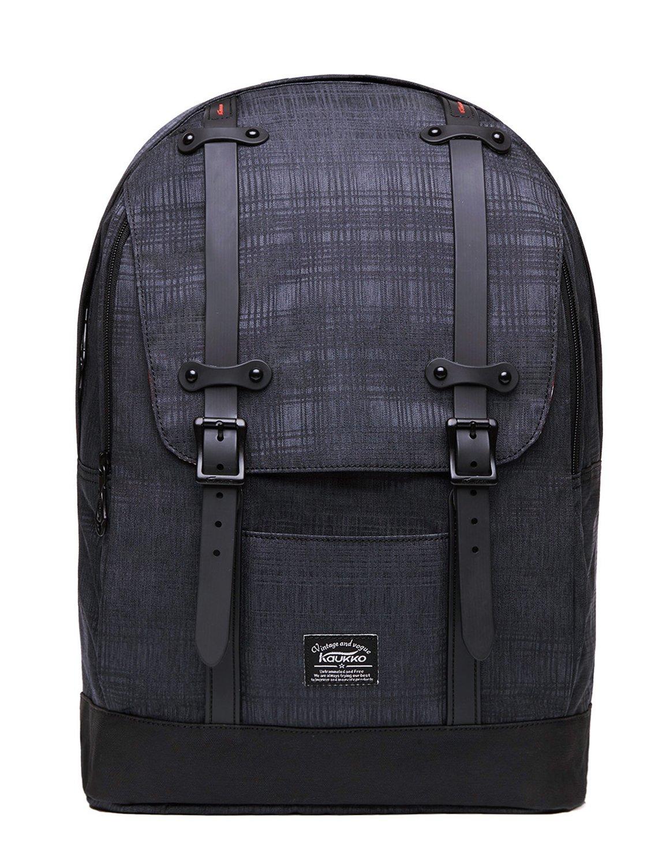 KAUKKO Rucksack Damen Herren Vintage Reiserucksack für 14  Notebook Lässiger Daypacks Schultaschen B071WP7NPJ Ruckscke Sport entzündet das Leben