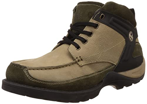 latest design best online new lower prices Woodland Men's Leather Trekking and Hiking Boots: Buy Online at ...