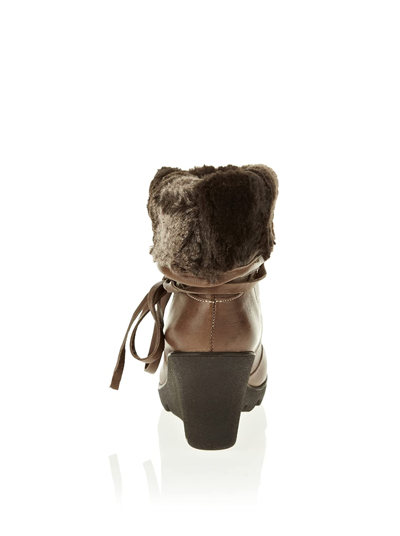 Cafe Cafe Cafe schwarz Stiefel braun Gr. 36 Daemne Schuhe 023a05