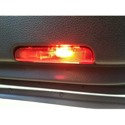 2013-2015 Nissan Pathfinder Altima Murano Red Interior Courtesy Door Light OEM 26420-3JA0B: Automotive
